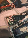 Obras de arte: Europa : España : Canarias_Santa_Cruz_de_Tenerife : Santa_Cruz_Tenerife : Plaza Roja, de la serie Perestroika