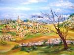 Obras de arte: Asia : Israel : Southern-Israel : beersheva : paisaje