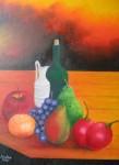 Obras de arte: America : Colombia : Distrito_Capital_de-Bogota : Bogota_ciudad : BODEGON MANDARINA 2