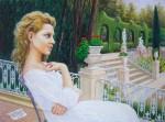 Obras de arte: Europa : España : Comunidad_Valenciana_Castellón : castellon_ciudad : En el jardín valenciano