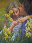 Obras de arte: Europa : España : Comunidad_Valenciana_Castellón : castellon_ciudad : Amantes entre flores