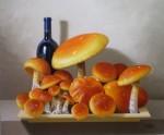 Obras de arte: America : M�xico : Mexico_Distrito-Federal : villa_obregon : hongos