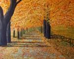Obras de arte: Europa : España : Castilla_y_León_Burgos : Villanueva_de_Gumiel : otoño