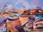 Obras de arte: Europa : España : Canarias_Las_Palmas : Puerto_del_Rosario : Abstración del Puertito del Cotillo