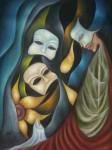Obras de arte: America : México : Mexico_Distrito-Federal : Coyoacan : CONTEMPLACION