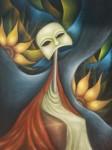 Obras de arte: America : México : Mexico_Distrito-Federal : Coyoacan : EN LA ESPERA