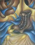 Obras de arte: America : México : Mexico_Distrito-Federal : Coyoacan : MI VIEJO