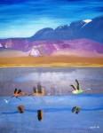 Obras de arte: America : Chile : Los_Lagos : puerto_montt : Lago Chungara Chile