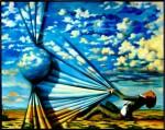 Obras de arte: Europa : Espa�a : Andaluc�a_Huelva : Ayamonte : Quasar vs Hombre
