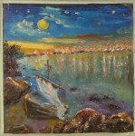 Obras de arte: Europa : Ucrania : Mykolayiv : Voznesensk : Paisaje, Llegada