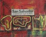 Obras de arte: America : El_Salvador : La_Libertad : Santa_Tecla : San Salvador  La Ciudad Que Se Desmorona