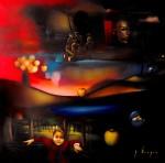 Obras de arte: America : México : Mexico_Distrito-Federal : Xochimilco : Las doradas manzanas del sol