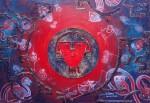 Obras de arte: America : Argentina : Buenos_Aires : Villa_Elisa : Universo sagrado de los Kilmes