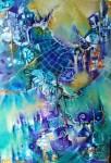 Obras de arte: America : Argentina : Buenos_Aires : ADROGUE : Atravesando el Mañana