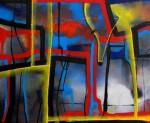Obras de arte: America : México : Mexico_Distrito-Federal : Xochimilco : Trazos