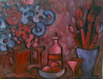 Obras de arte: America : Uruguay : Canelones : Parque_de_Carrasco : Flores y pinceles