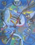 Obras de arte: America : Perú : Lima : chosica : oceano