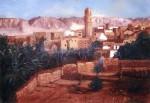 Obras de arte: America : Chile : Region_Metropolitana-Santiago : providencia : Desierto de Dakhla
