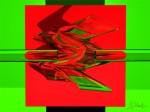 Obras de arte: Europa : España : Valencia : valencia_ciudad : Combinación de colores en Verde y Rojo