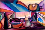 Obras de arte: America : Colombia : Santander_colombia : Bucaramanga : BODEGON CONCEPTUAL