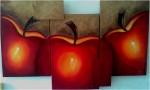 Obras de arte: America : México : Yucatan : ciudad_de_merida : triptico manzanas