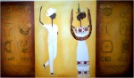 Obras de arte: America : México : Yucatan : ciudad_de_merida : Jaraneros