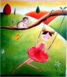 Obras de arte: America : México : Yucatan : ciudad_de_merida : Vanessa la Bailarina