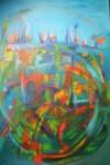 Obras de arte: America : Argentina : Buenos_Aires : Ciudad_Jardín_-_Palomar : ES SERENO TU PAISAJE