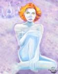 Obras de arte: Europa : España : Principado_de_Asturias : Siero : Blue Woman