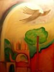 Obras de arte: America : Argentina : Buenos_Aires : Ciudad_Jardín_-_Palomar : EN ALGÚN LUGAR