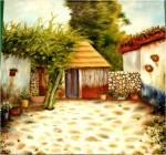 Obras de arte: America : México : Yucatan : ciudad_de_merida : Jicaras