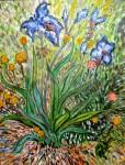 Obras de arte: Europa : España : Andalucía_Cádiz : Algeciras : Wild Irises