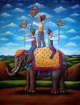 Obras de arte: America : México : Baja_California : tijuana : el elefante