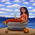 Obras de arte: America : México : Baja_California : tijuana : sirena con coronita