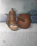 Obras de arte: Africa : Marruecos : Tanger-Tetouan : tetuan :  vieja cafetera