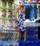Obras de arte: Europa : Suecia : Stockholms : Estocolmo : AZUL LONDRES (SERIE FOTO-ART)