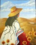 Obras de arte: Europa : España : Murcia : Murcia_ciudad : Entre girasoles