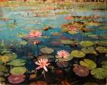 Obras de arte: America : Argentina : Buenos_Aires : Ciudad_de_Buenos_Aires : Nenufares en flor lV