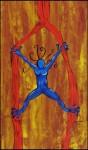 Obras de arte: America : El_Salvador : La_Libertad : Santa_Tecla : Frida  Acrobacia sobre tela 3