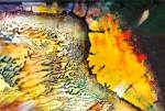 Obras de arte: Europa : España : Andalucía_Granada : Orgiva : ocaso