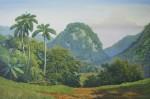 Obras de arte: America : Cuba : Ciudad_de_La_Habana : miramar_playa : Amanecer en el valle