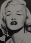 Obras de arte: America : Argentina : Buenos_Aires : La_Plata : Marilyn Monroe