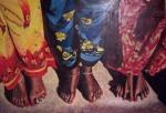 Obras de arte: Europa : España : Comunidad_Valenciana_Alicante : Elda : andando por la vida