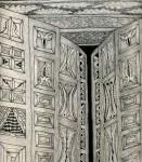 Obras de arte: Europa : Espa�a : Andaluc�a_Granada : Orgiva : Fragmento de las puertas del inconsciente