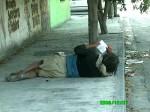 Obras de arte: America : México : Nuevo_Leon : Monterrey : que creen....indigente 3