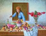 Obras de arte: America : Colombia : Santander_colombia : Bucaramanga : Retrato - Bodegon