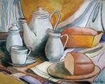 Obras de arte: America : Nicaragua : Managua : Managua_ciudad : Bodegón de pan