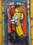 Obras de arte: America : Argentina : Buenos_Aires : CABA : Niño con paloma