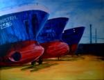 Obras de arte: America : Chile : Los_Lagos : puerto_montt : Astillero