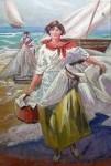 Obras de arte: Europa : España : Andalucía_Granada : almunecar : marineras